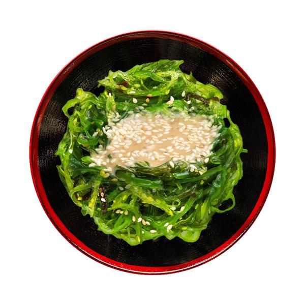 Salata Hiyashi Wakame cu sos de nuci